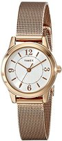 "Timex Women's T2P4599J ""Main Street Modern Minis"" Rose Gold-Tone Watch"