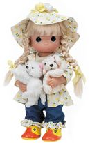 Precious Moments Raining Cats and Dogs Doll