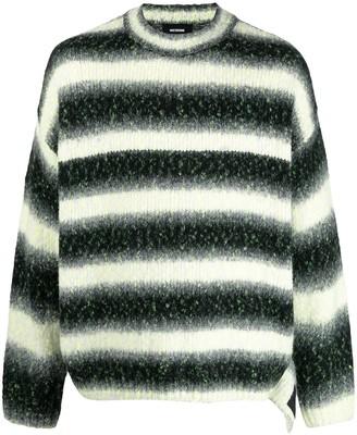 we11done Oversize Stripe-Knit Jumper
