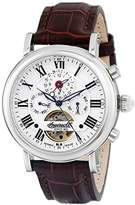 Ingersoll Men's IN7305WH Crooker Analog Display Automatic Self Wind Brown Watch