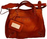Balenciaga VAlo Red Suede Handbags