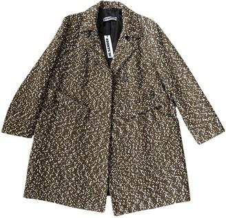 Jil Sander Brown Wool Coat for Women
