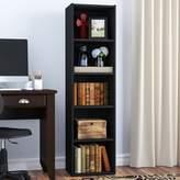 Andover Mills Scottdale Standard Bookcase Color: Black