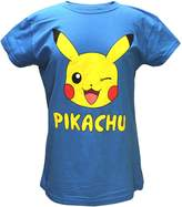 Bioworld Pokemon Juniors Pikachu Character Shirt