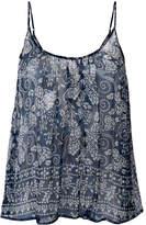 Mes Demoiselles Banda printed camisole top