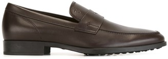 Tod's Stitched Penny Loafers