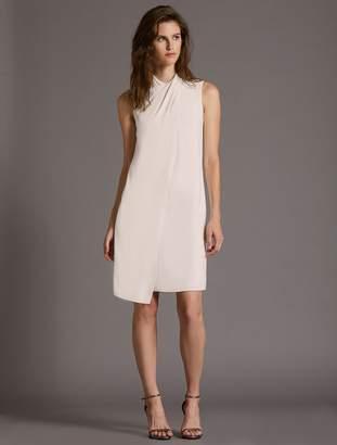 Halston Cross Neck Dress