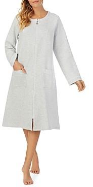 Eileen West Zip Front Quilted Robe