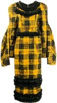 Comme des Garcons Check Print Dress