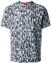 Paul Smith people print T-shirt - men - Cotton - S