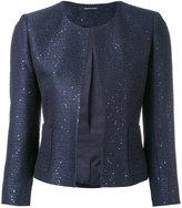 Tagliatore classic fitted jacket - women - Cotton/Acrylic/Polyamide/Viscose - 42