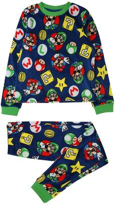M&Co Fleece Super Mario pyjamas (5 - 12 yrs)