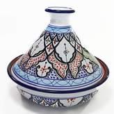 Le Souk Ceramique Tibarine 1.5 Qt. Cookable Ceramic Round Tagine