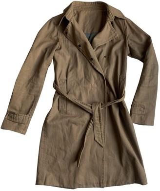 Zadig & Voltaire Beige Cotton Trench Coat for Women