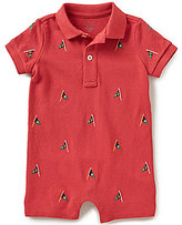 Ralph Lauren Baby Boys 3-24 Months Nautical-Embroidered Shortall