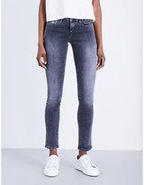 Calvin Klein Body 2.0 skinny mid-rise jeans
