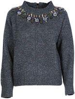 Tara Jarmon Embroidery Pullover