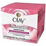 Olay Active Hydrating Cream Original Facial Moisturizer 2 Oz (Pack of 2)