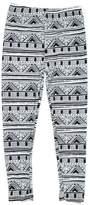 Expert Design Girl's Gorgeous House Pattern Navajo Print Leggings - L/XL