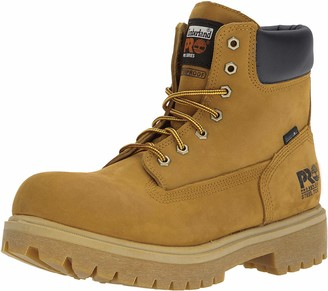 "Timberland Men's 65016 Direct Attach 6"" Steel Toe Boot Yellow 8 W"