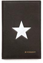 Givenchy Star Bi-Fold Card Case, Black