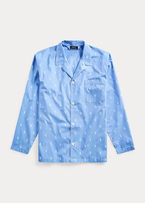 Ralph Lauren Signature Pony Pajama Shirt