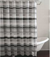 Bed Bath & Beyond PEVA Raya Shower Curtain in Black/Grey