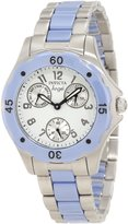 Invicta Women's Angel Dial Blue Ceramic/Stainless Steel