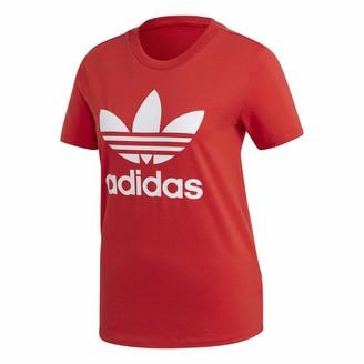 adidas womens Trefoil Tee T Shirt