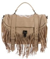 Proenza Schouler Medium Fringe PS1 Satchel