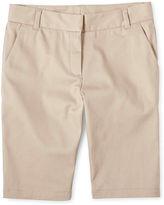 Izod Twill Bermuda Shorts - Girls 4-16