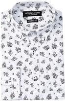 Nick Graham Small Rose Modern Fit Dress Shirt