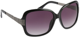 Rocawear Women's R3197 Textured Rectangle Sunglasses