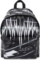 Eastpak Authentic Padded Pak'r music-print leather backpack