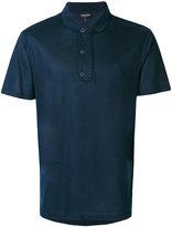 Emporio Armani embroidered logo polo shirt