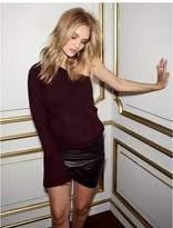 Paige Rosie HW x Collection Hadlee Sweater - Black Cherry