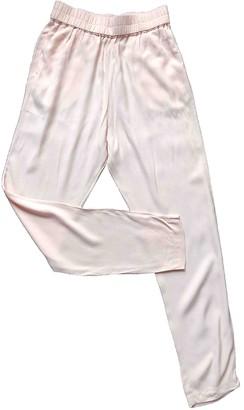 Samsoe & Samsoe Pink Trousers for Women