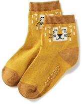 Old Navy Non-Skid Crew Socks for Toddler & Baby