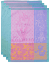 Garnier Thiebaut Iris Cotton Kitchen Towels (Set of 4)
