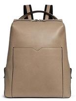 Valextra 'V-Line' leather backpack