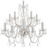 Harrison Lane 10-Light Crystal Chandelier