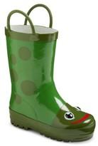 Toddler Kid's Frog Rain Boots - Green