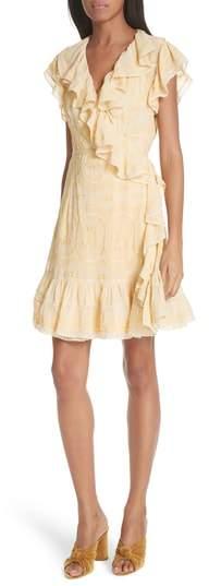 Needle & Thread Anglaise Georgette Wrap Dress