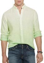 Polo Ralph Lauren Big and Tall Ombre Linen Shirt