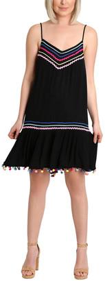 Nanette Lepore Selina Spaghetti Strap Cover-Up Dress