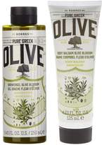 Korres Olive Oil & Olive Blossom Body Duo