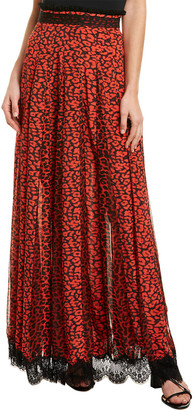 Rococo Sand Lace-Trim Skirt