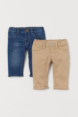 H&M 2-pack Super Soft Pants