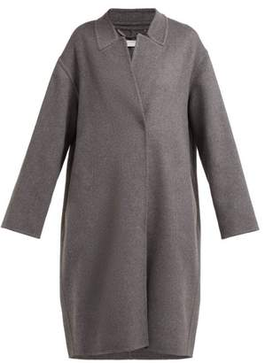Stella McCartney Double Faced Wool Cocoon Coat - Womens - Grey