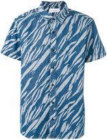 Les Benjamins printed short sleeve shirt - men - Cotton - S
